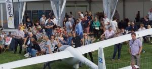 Un public venu en masse : la meilleure récompense pour les organisateurs d'un meeting aérien.